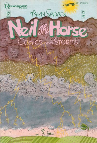 Cover for Neil the Horse Comics and Stories (Renegade Press, 1984 series) #12