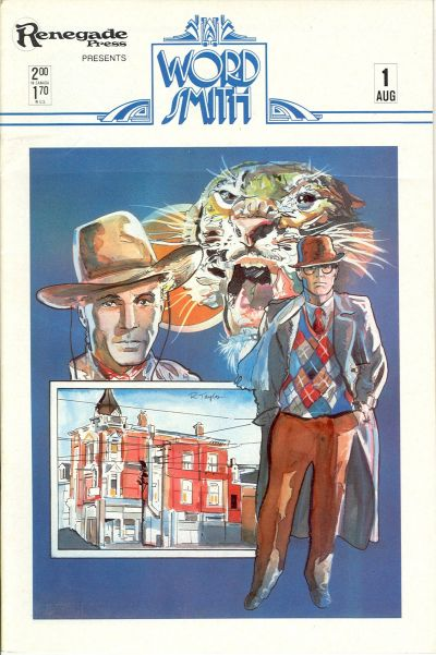 Cover for Wordsmith (Renegade Press, 1985 series) #1