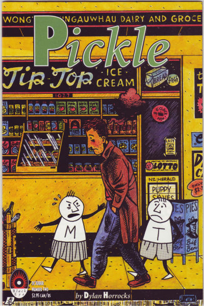 Cover for Pickle (Black Eye, 1993 series) #2