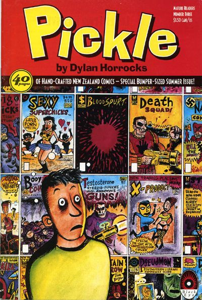 Cover for Pickle (Black Eye, 1993 series) #3