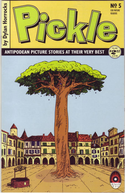 Cover for Pickle (Black Eye, 1993 series) #5