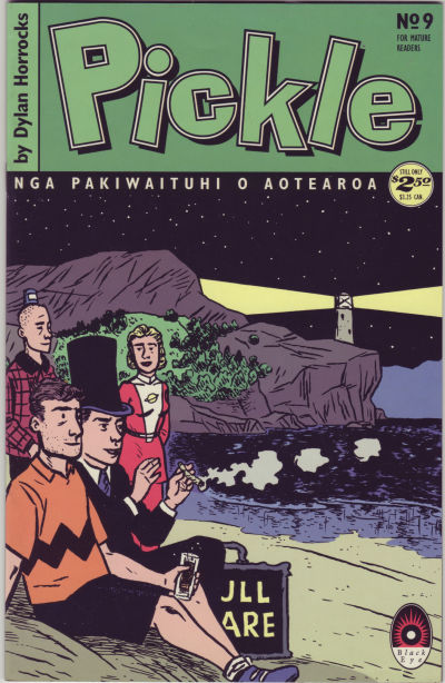 Cover for Pickle (Black Eye, 1993 series) #9