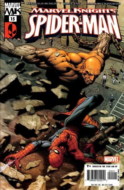 Cover for Marvel Knights Spider-Man (Marvel, 2004 series) #15