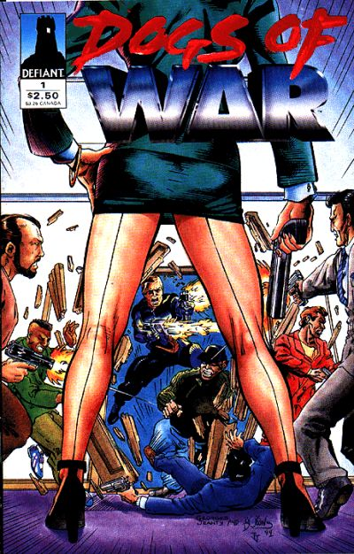Cover for Dogs of War (Defiant, 1994 series) #1