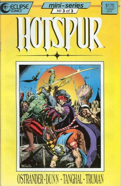 Cover for Hotspur (Eclipse, 1987 series) #3