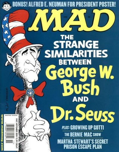 Cover for MAD (EC, 1952 series) #447