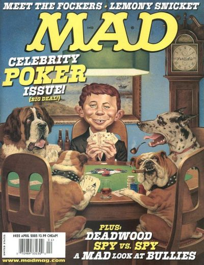 Cover for MAD (EC, 1952 series) #452