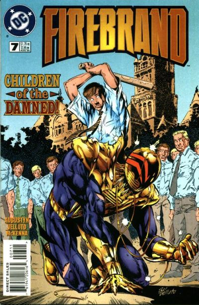 Cover for Firebrand (DC, 1996 series) #7