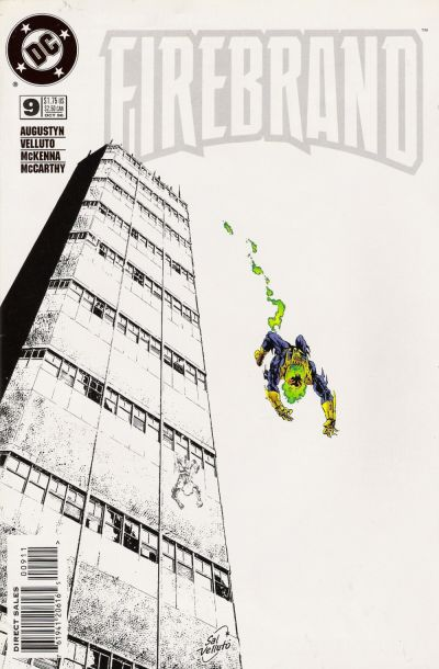 Cover for Firebrand (DC, 1996 series) #9