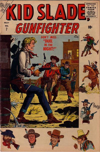 Cover for Kid Slade, Gunfighter (Marvel, 1957 series) #7