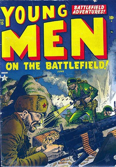 Cover for Young Men on the Battlefield (Marvel, 1952 series) #15
