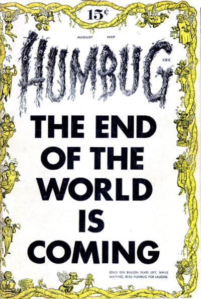 Cover for Humbug (Humbug Publications, 1957 series) #1