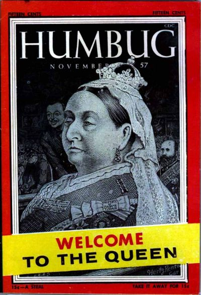 Cover for Humbug (Humbug Publications, 1957 series) #4