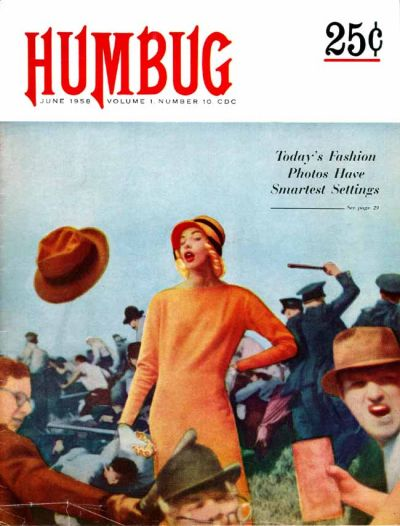 Cover for Humbug (Humbug Publications, 1957 series) #10