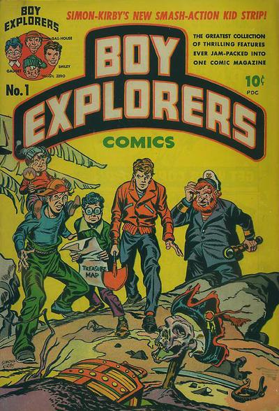 Cover for Boy Explorers Comics (Harvey, 1946 series) #1