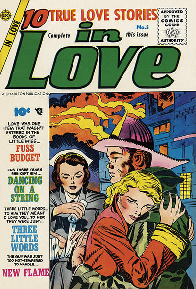 Cover for In Love (Charlton, 1955 series) #5