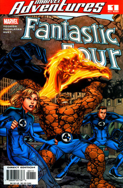 Cover for Marvel Adventures Fantastic Four (Marvel, 2005 series) #1