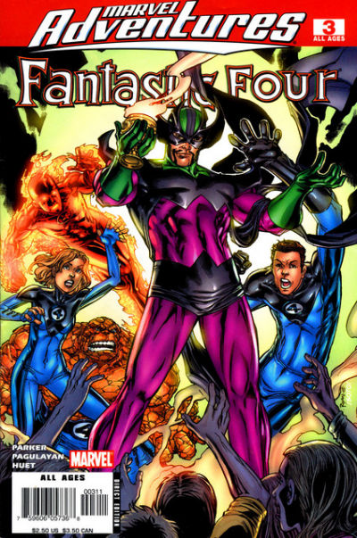 Cover for Marvel Adventures Fantastic Four (Marvel, 2005 series) #3