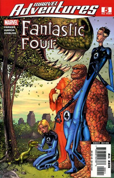 Cover for Marvel Adventures Fantastic Four (Marvel, 2005 series) #5