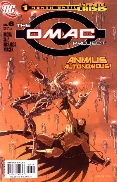 Cover for The OMAC Project (DC, 2005 series) #6