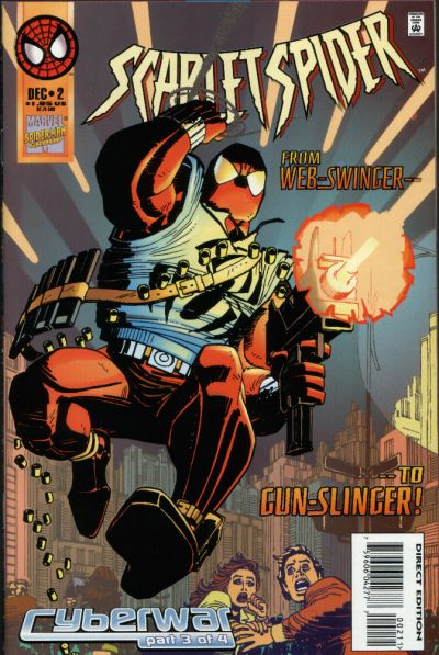 Cover for Scarlet Spider (Marvel, 1995 series) #2