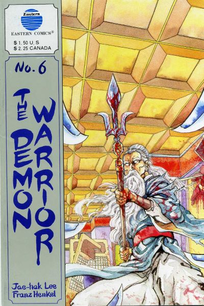 Cover for The Demon Warrior (Eastern Comics, 1987 series) #6