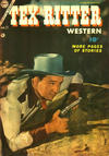 Cover for Tex Ritter Western (Charlton, 1954 series) #21