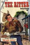 Cover for Tex Ritter Western (Charlton, 1954 series) #24