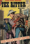 Cover for Tex Ritter Western (Charlton, 1954 series) #37
