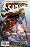 Cover for Supergirl (DC, 2005 series) #1 [Direct Sales - Ian Churchill / Norm Rapmund Cover]