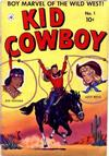 Cover for Kid Cowboy (Ziff-Davis, 1950 series) #1