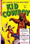 Cover for Kid Cowboy (Ziff-Davis, 1950 series) #2