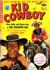 Cover for Kid Cowboy (Ziff-Davis, 1950 series) #6
