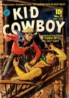 Cover for Kid Cowboy (Ziff-Davis, 1950 series) #9