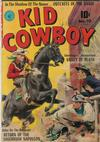 Cover for Kid Cowboy (Ziff-Davis, 1950 series) #10
