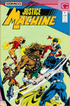 Cover for Justice Machine (Comico, 1987 series) #6