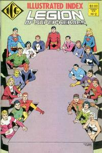 Cover Thumbnail for The Official Legion of Super-Heroes Index (Independent Comics Group, 1986 series) #2