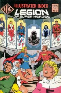 Cover Thumbnail for The Official Legion of Super-Heroes Index (Independent Comics Group, 1986 series) #5