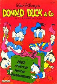 Cover Thumbnail for Donald Duck & Co (Hjemmet / Egmont, 1948 series) #53/1981