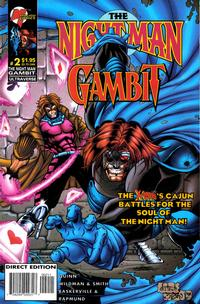 Cover Thumbnail for The Night Man / Gambit (Marvel, 1996 series) #2