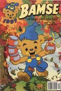Cover Thumbnail for Bamse (Egmont, 1997 series) #10/1997