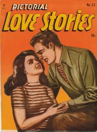 Cover Thumbnail for Pictorial Love Stories (Charlton, 1949 series) #22