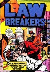 Cover Thumbnail for Lawbreakers (Charlton, 1951 series) #1