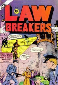 Cover Thumbnail for Lawbreakers (Charlton, 1951 series) #3