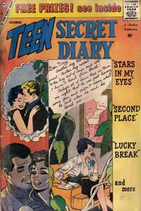 Cover Thumbnail for Teen Secret Diary (Charlton, 1959 series) #2