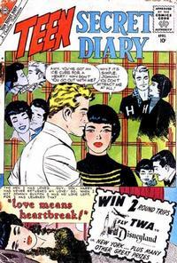 Cover Thumbnail for Teen Secret Diary (Charlton, 1959 series) #4