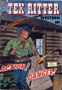 Cover Thumbnail for Tex Ritter Western (Charlton, 1954 series) #23