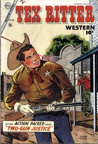 Cover Thumbnail for Tex Ritter Western (Charlton, 1954 series) #24