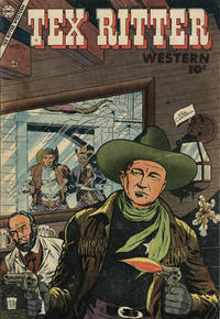 Cover Thumbnail for Tex Ritter Western (Charlton, 1954 series) #27