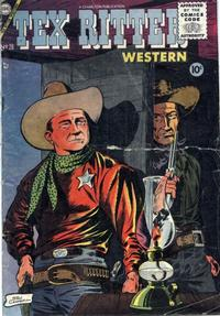Cover Thumbnail for Tex Ritter Western (Charlton, 1954 series) #28